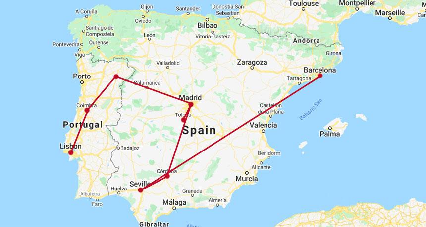 SPAIN & PORTUGAL HISTORY & CULTURE TOUR
