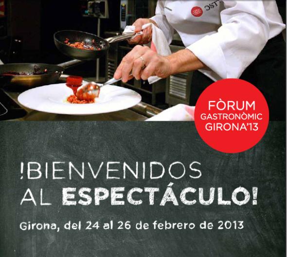 forum gastronomic girona 2013